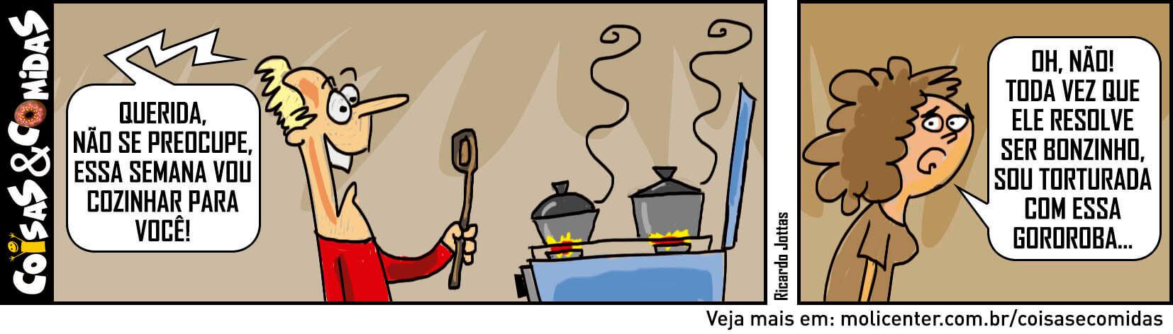 Nem todo Homem na Cozinha é o Rodrigo  #CC014
