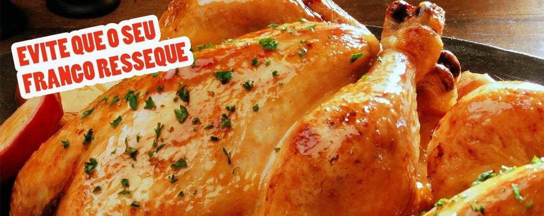 Evite que o frango resseque
