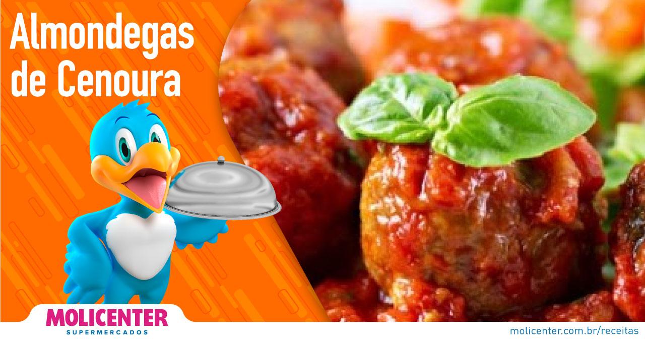 Almondega de Cenoura
