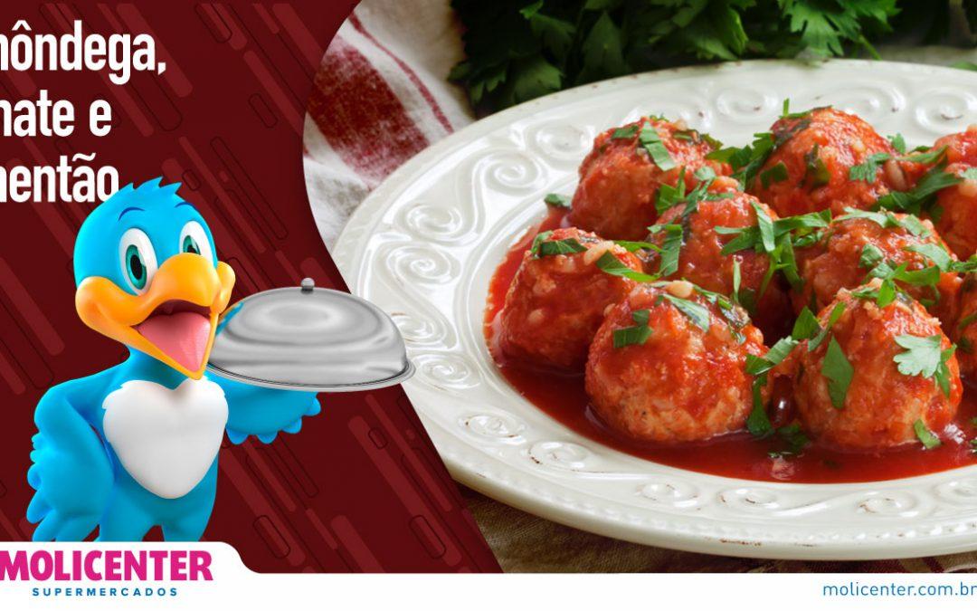 Almôndega, Tomate e Pimentão